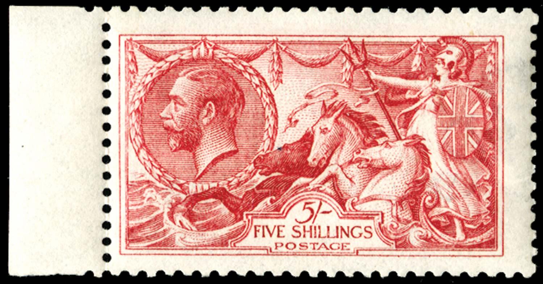 GB 1915  SG409wj Mint Wmk. Reversed