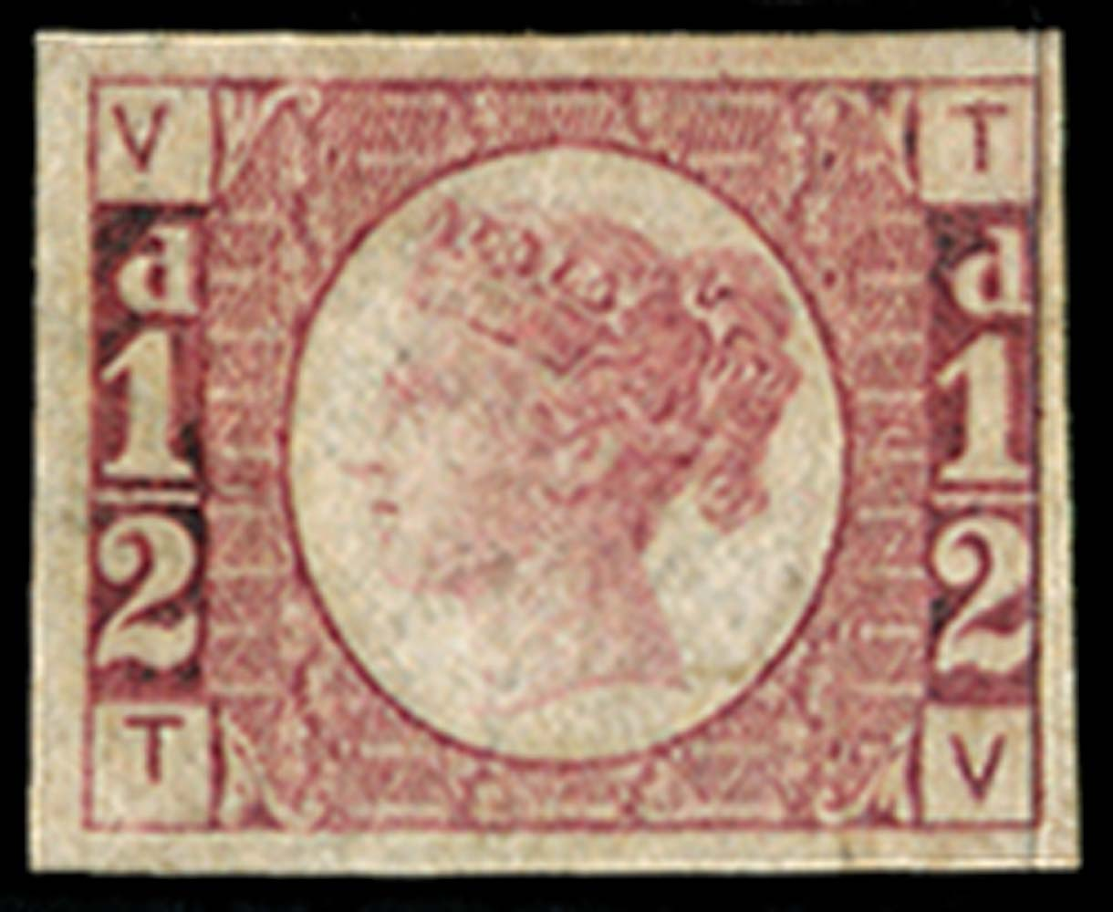 GB 1870  SG48var Pl.1 Mint
