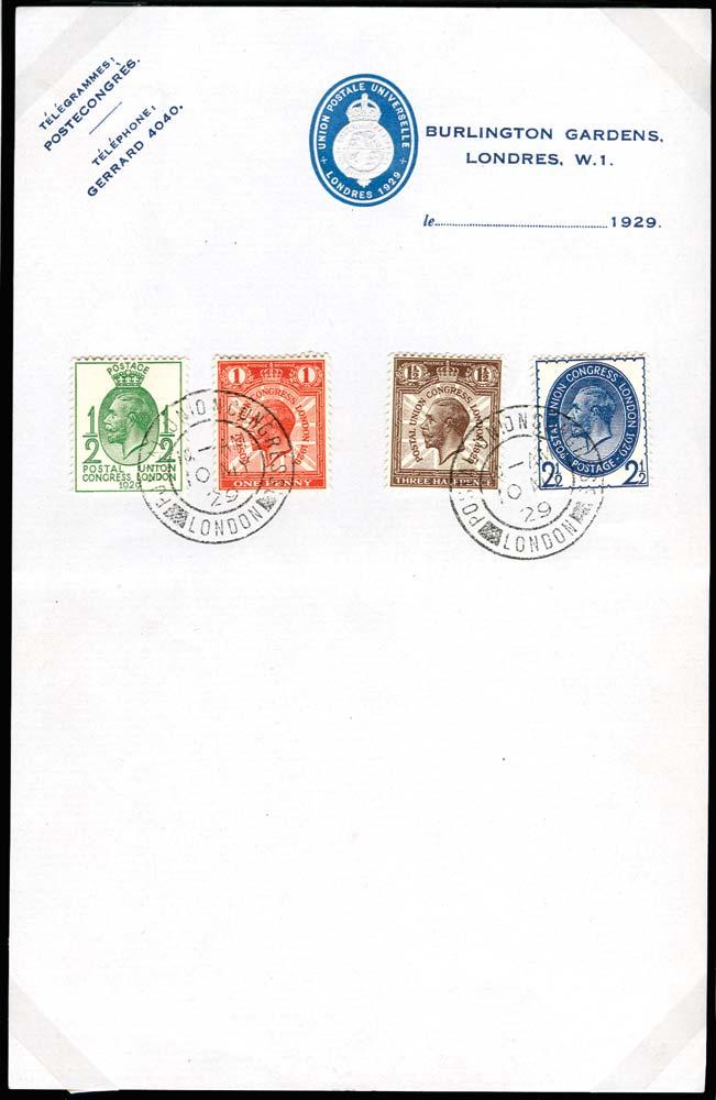 GB 1929  SG434/7 Used