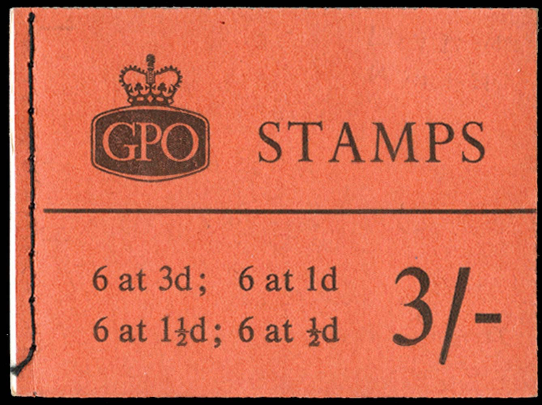 GB 1959  SGM15g Booklet