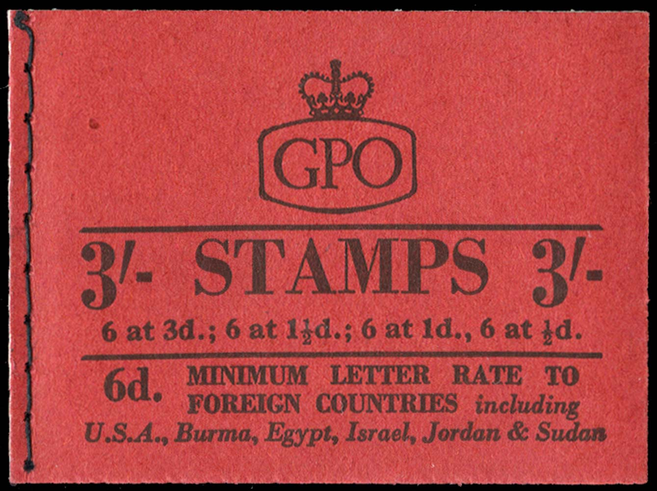 GB 1959  SGM14g Booklet