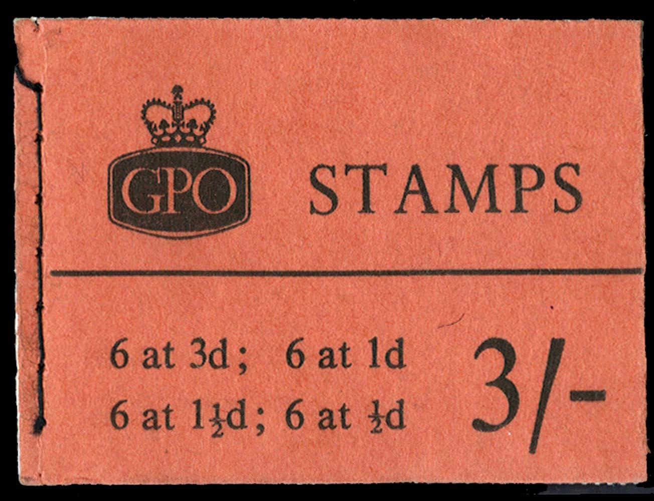 GB 1960  SGM21g Booklet