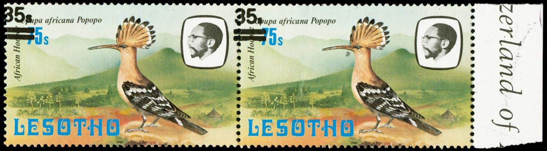 LESOTHO 1986  SG721/a Mint