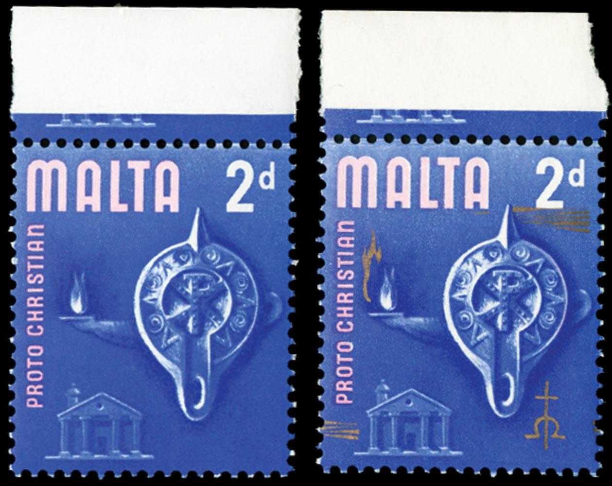 MALTA 1965  SG333a Mint