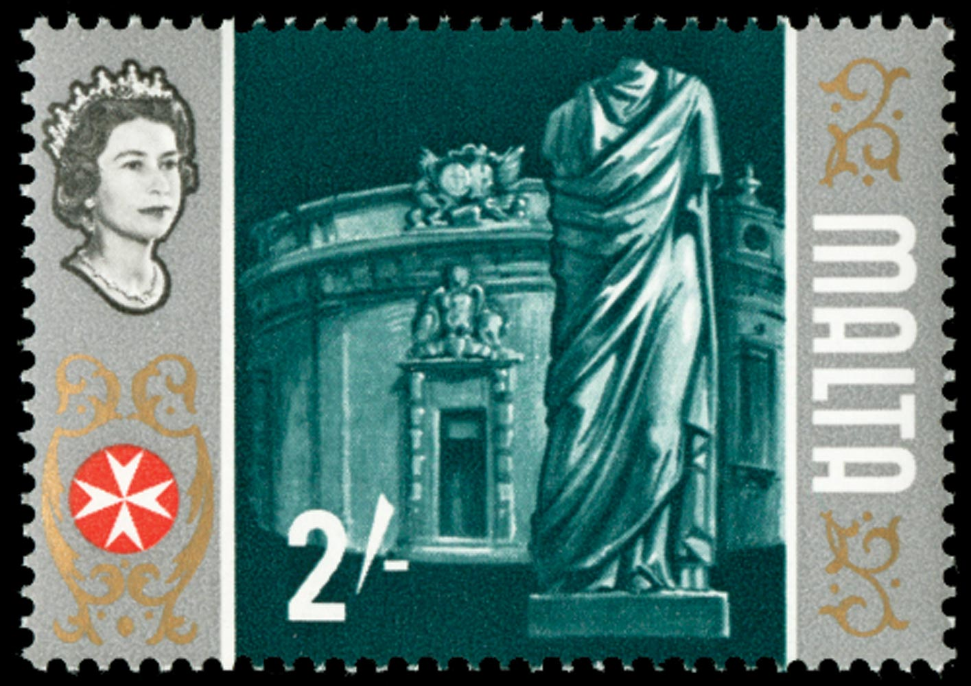 MALTA 1965  SG343a Mint