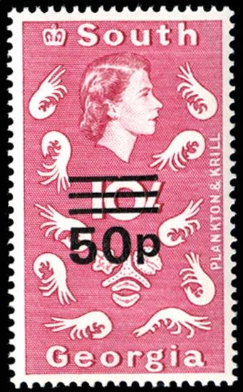 FALKLAND ISLAND DEPS 1971-76  SG31 Mint