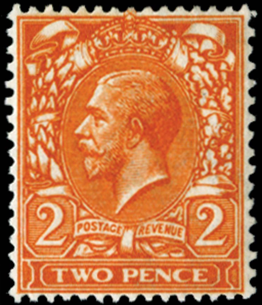 GB 1912  SG369var Mint