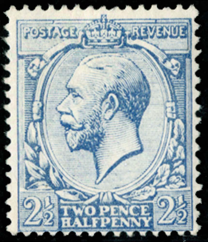 GB 1917  SG371var Mint