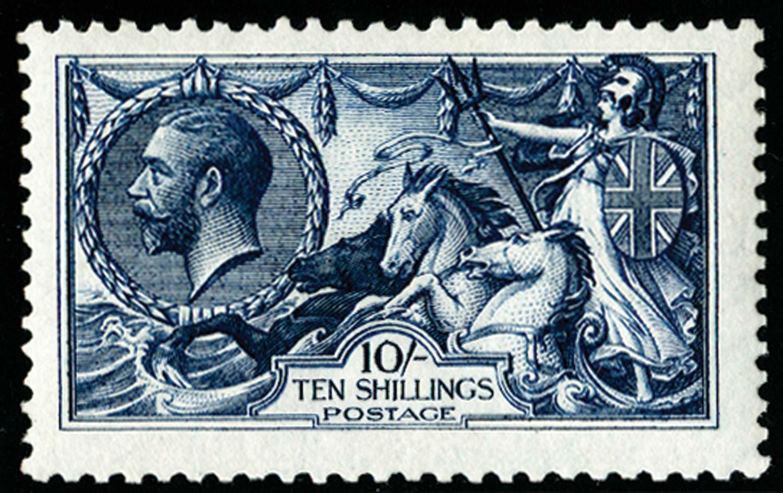 GB 1913  SG402var Mint