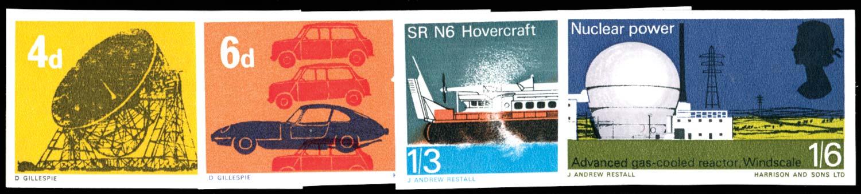 GB 1966  SG701/4var Mint
