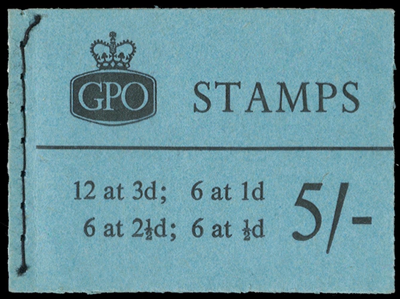 GB 1960  SGH46p Booklet