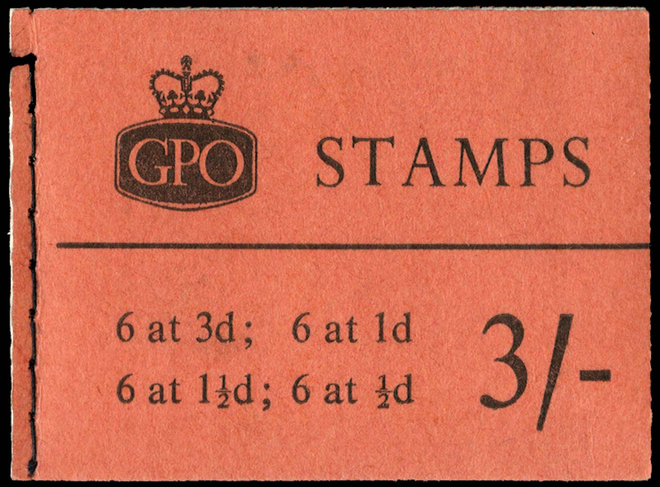 GB 1960  SGM20g Booklet