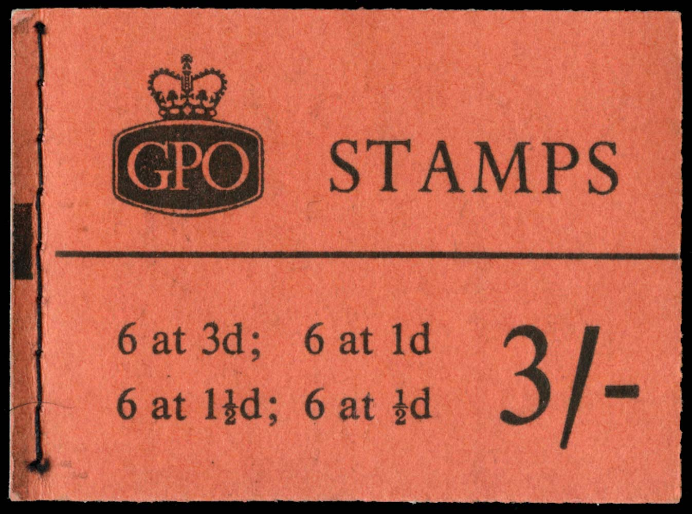 GB 1960  SGM21g Booklet