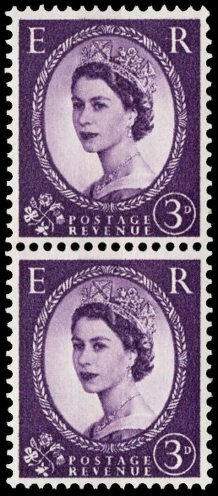 GB 1959  SG575var Mint