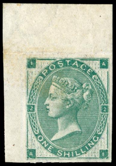 GB 1862  SG91awi Pl.3 Mint