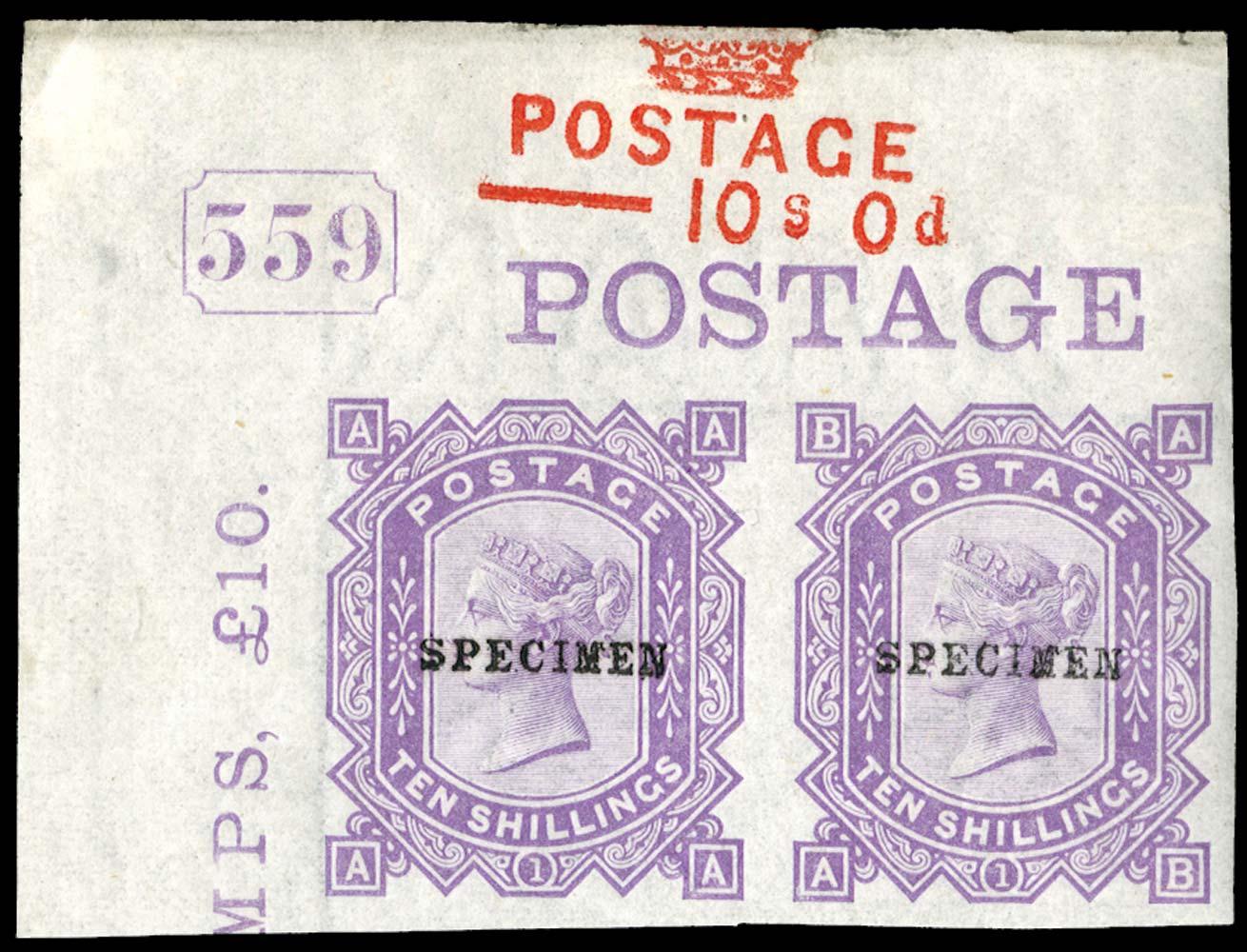 GB 1878  SG128var Pl.1 Mint