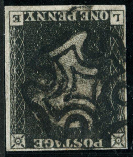 GB 1840  SG2 Pl.8 Used