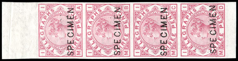 GB 1876  SGT3var Telegraph