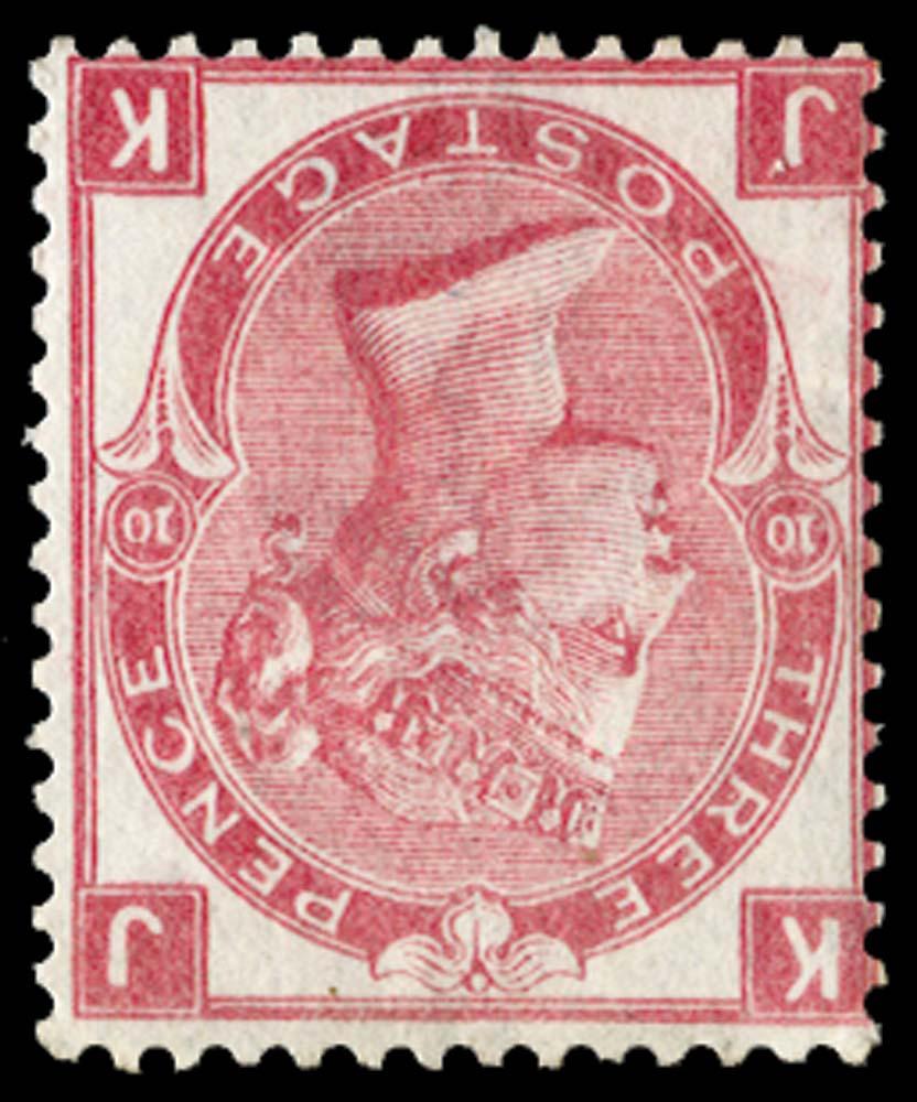 GB 1873  SG103wi Pl.10 Mint