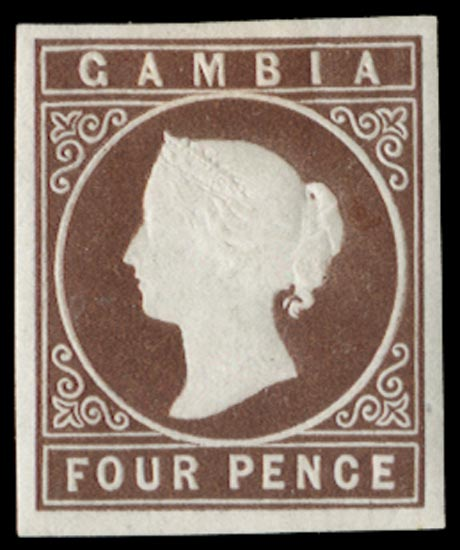 GAMBIA 1869  SG1 Mint