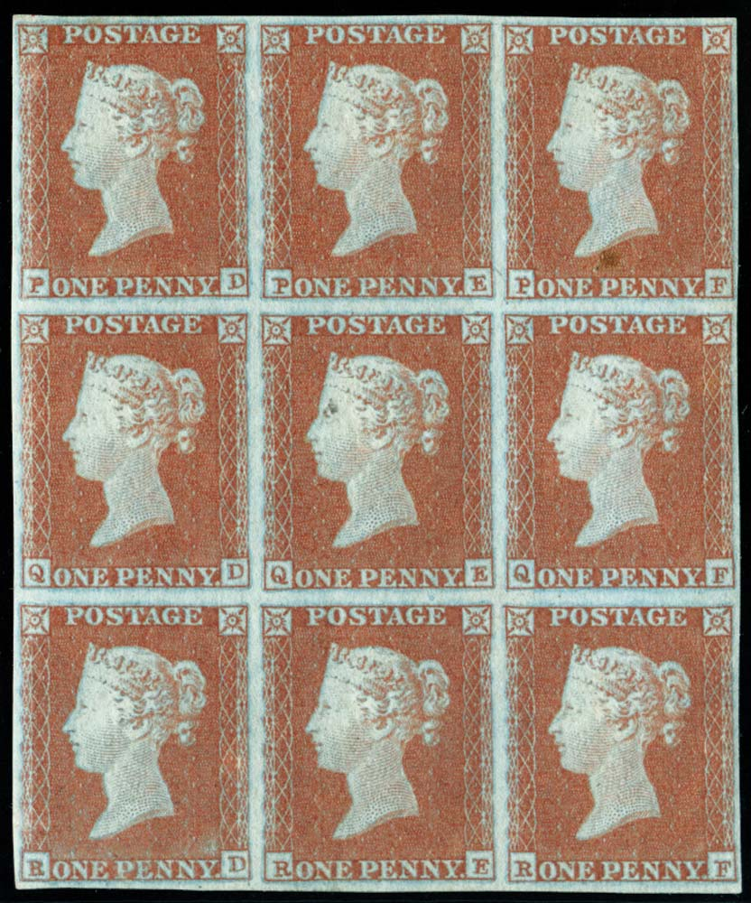 GB 1841  SG8 Pl.110 Mint