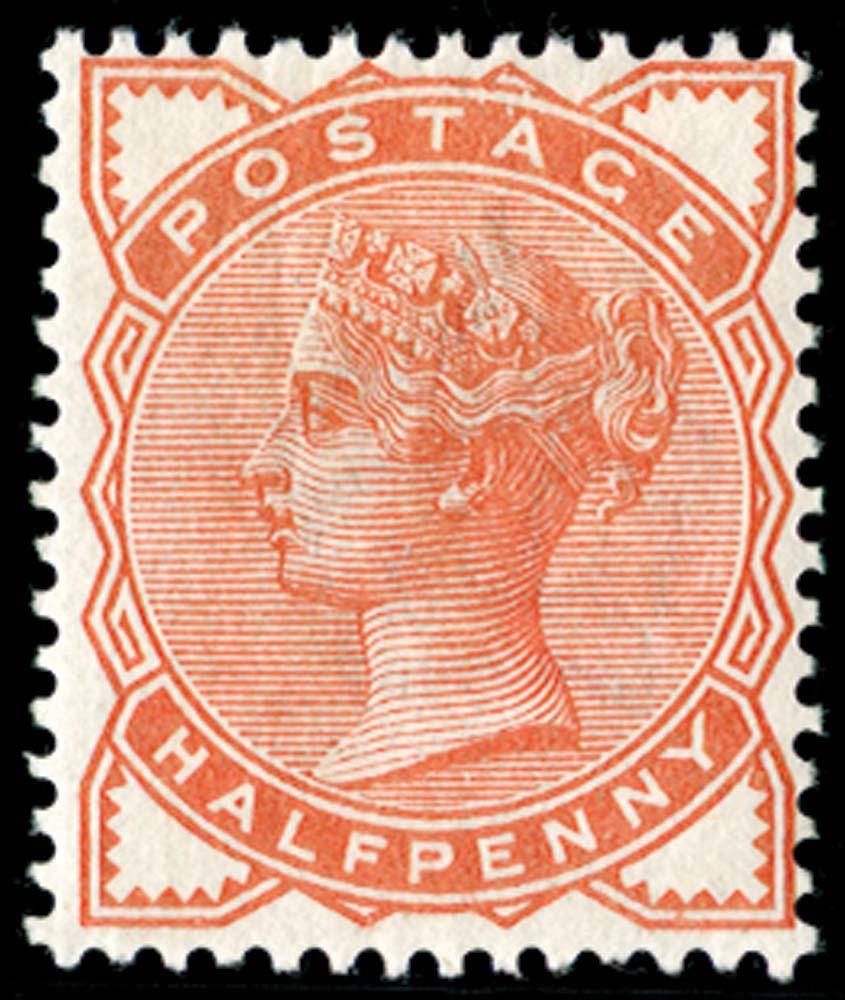 GB 1880  SG165var Mint