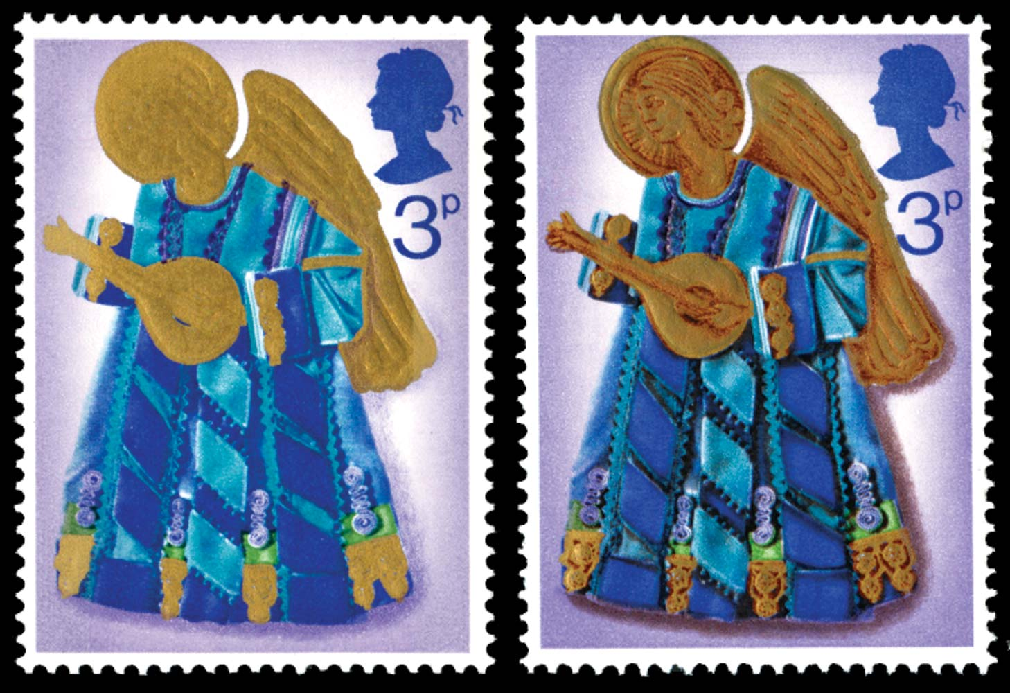 GB 1972  SG914a Mint Red-brown omitted