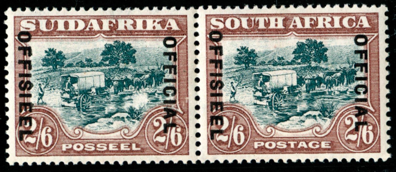 SOUTH AFRICA 1930  SGO18a Official