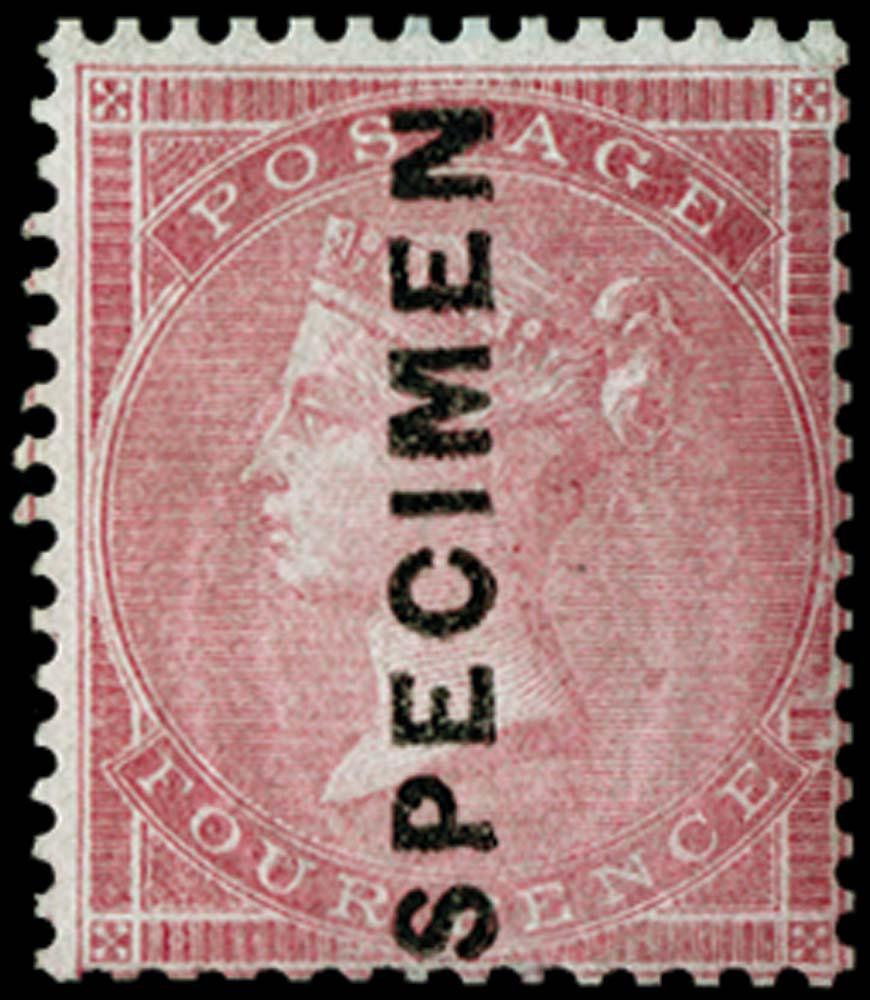 GB 1856  SG62s Specimen