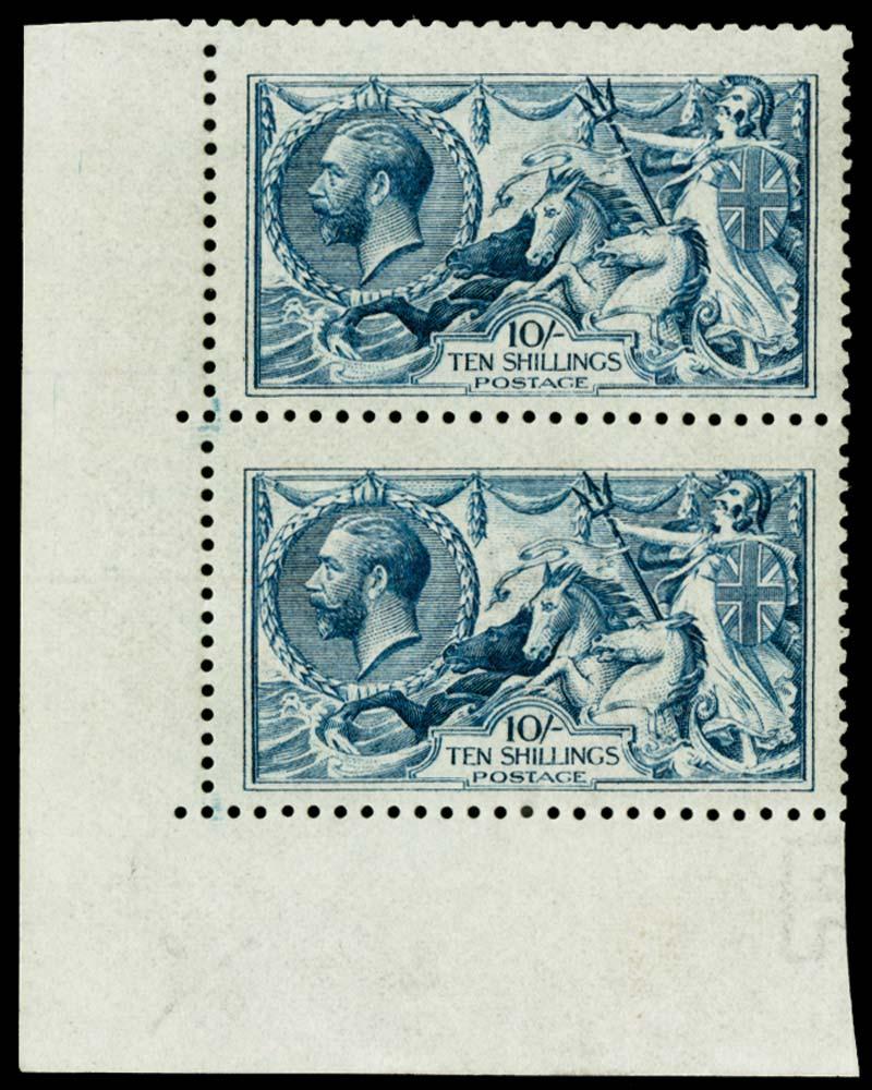 GB 1915  SG411var Mint