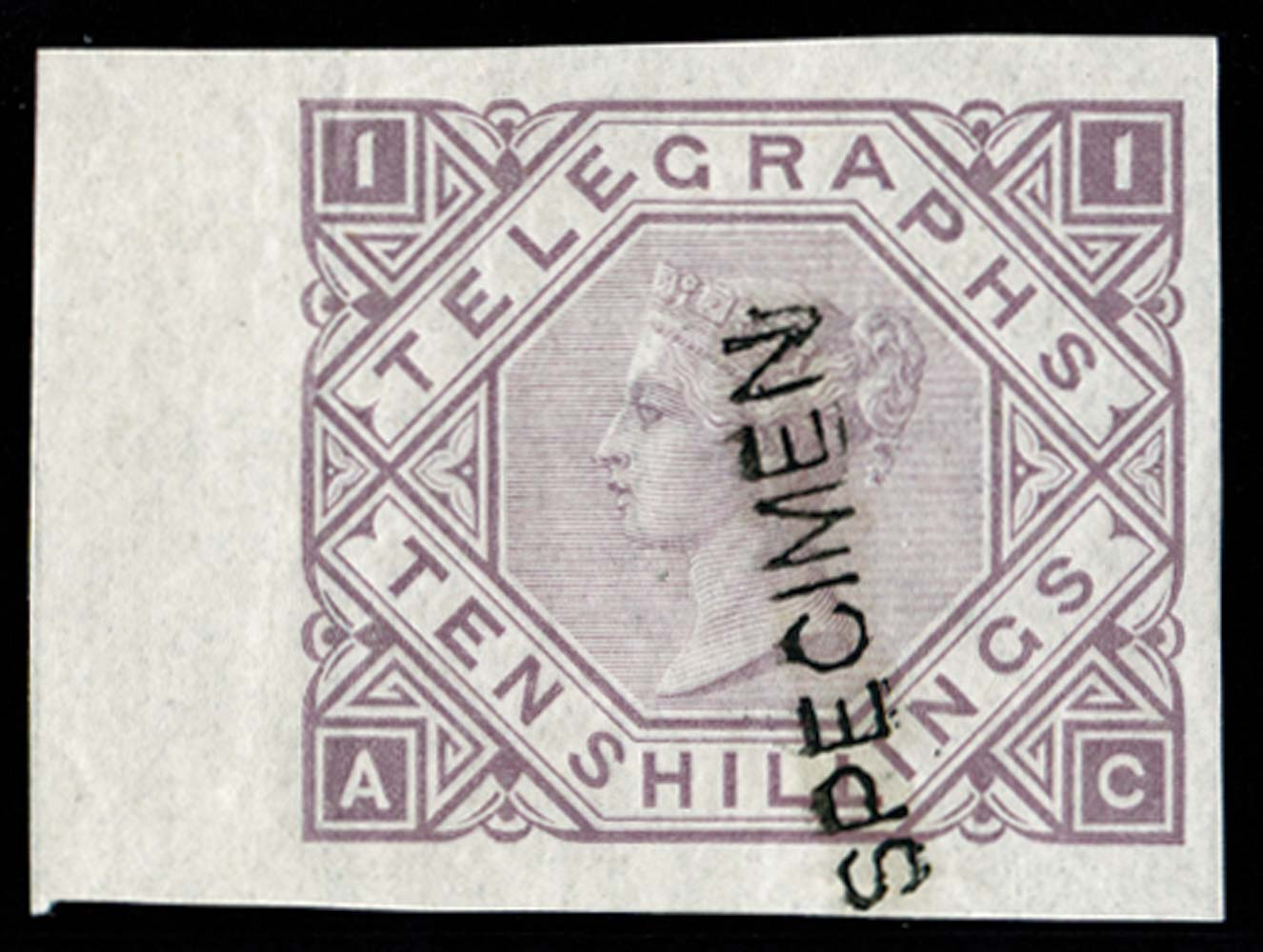 GB 1877  SGT16var Pl.1 Telegraph