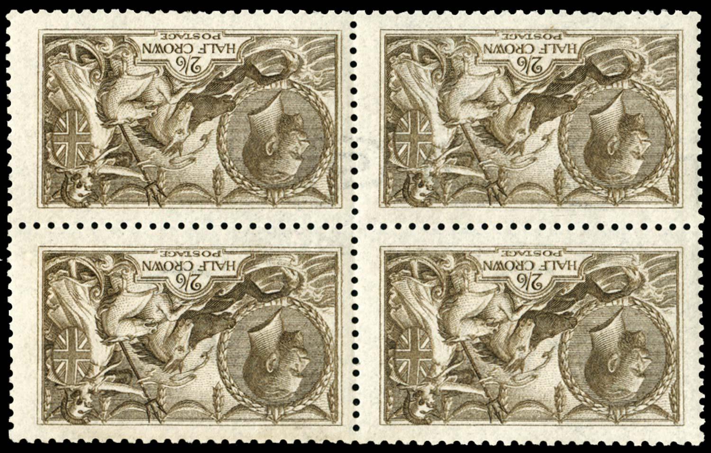 GB 1915  SG408wi Mint Wmk. Inverted &