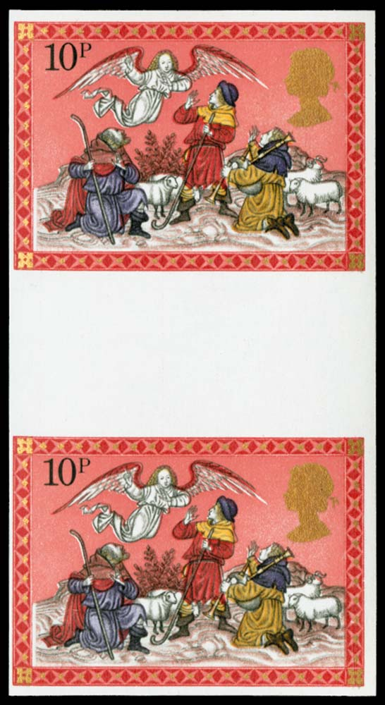 GB 1979  SG1105b Mint Imperforate (vertical pair).