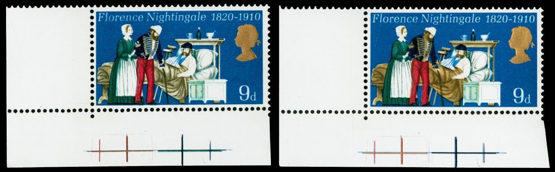 GB 1970  SG820a Mint