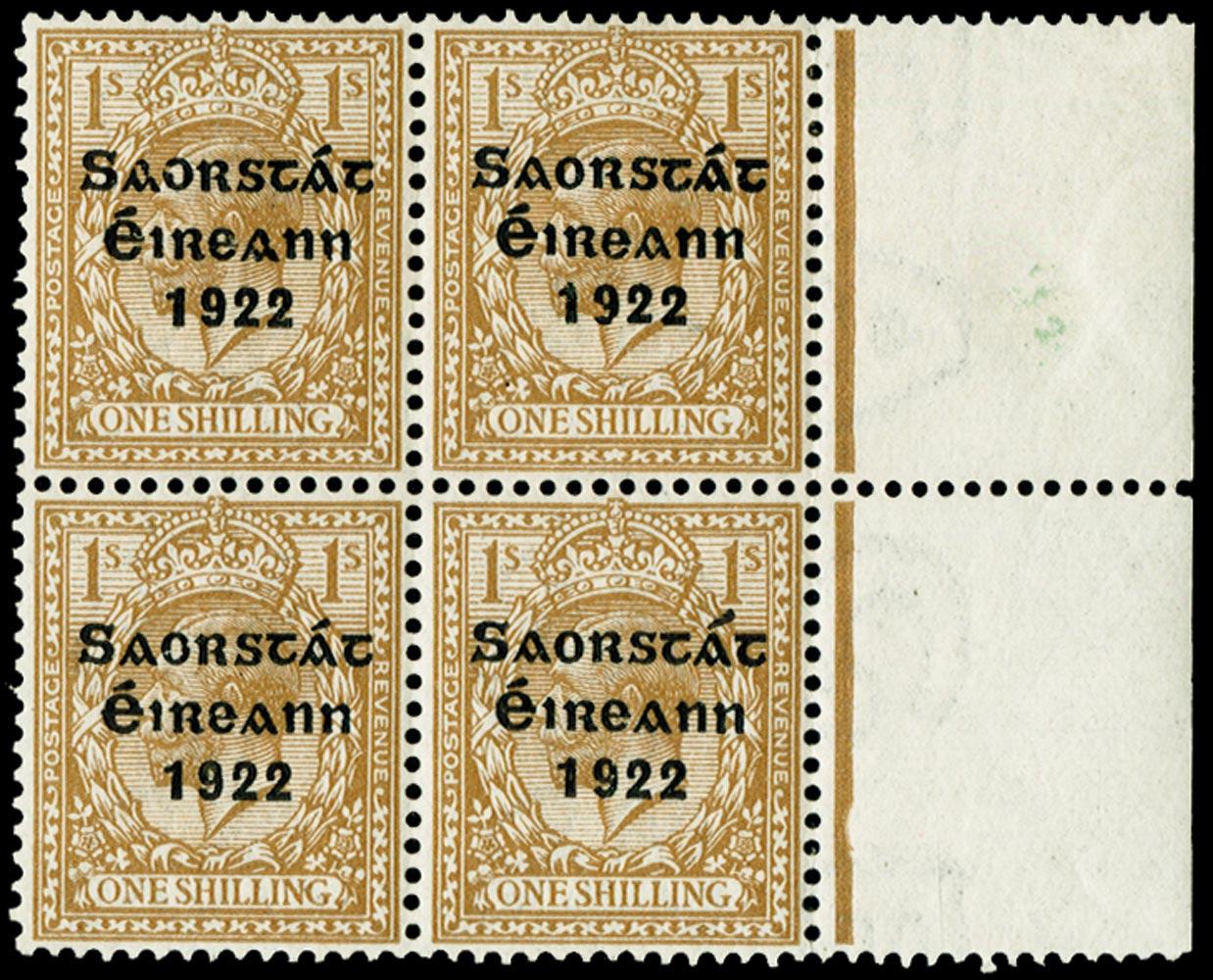 IRELAND 1922  SG63/b Mint