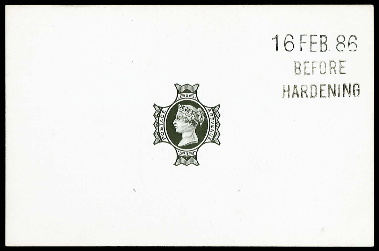 GB 1886  SG205var Proof