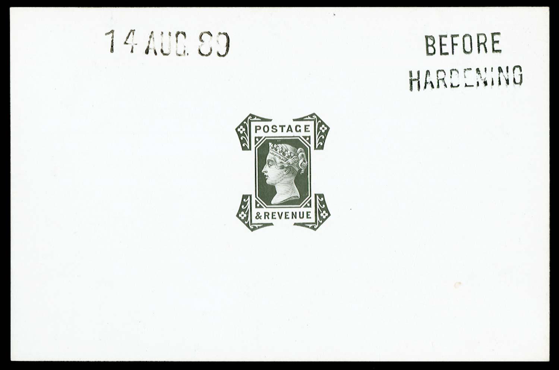 GB 1889  SG210var Proof