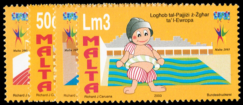 MALTA 2003  SG1306/9 Mint
