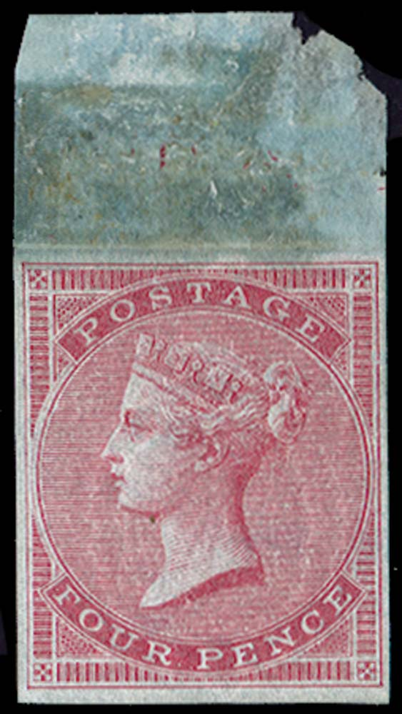 GB 1855  SG62var Pl.1 Mint Imprimatur.