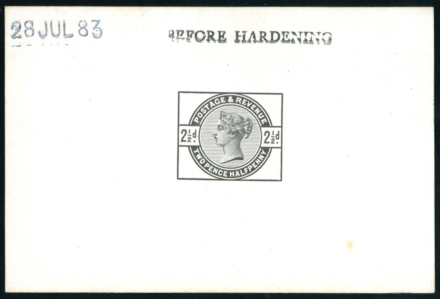 GB 1883  SG190var Proof