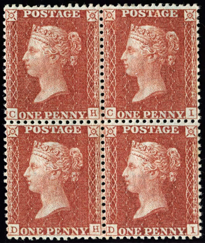 GB 1855  SG29var Pl.6 Mint