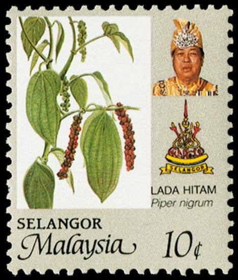 MALAYA - SELANGOR 1986  SG179a Mint