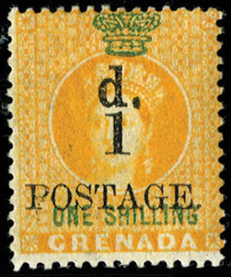 GRENADA 1886  SG38 Mint