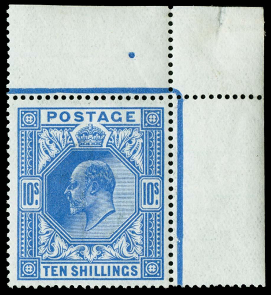 GB 1912  SG319var Mint