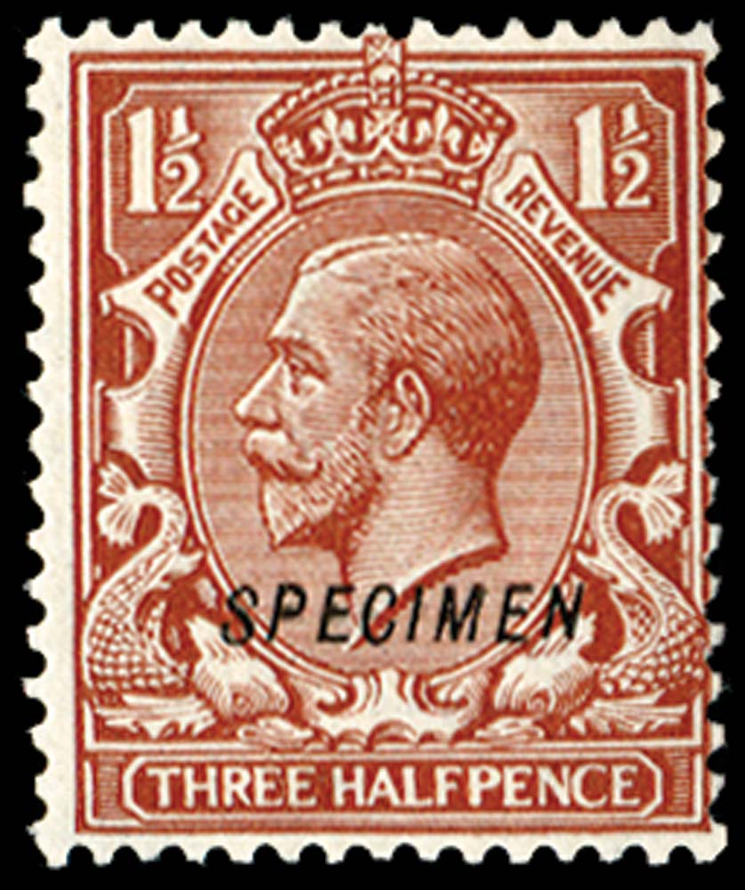 GB 1924  SG420s Specimen