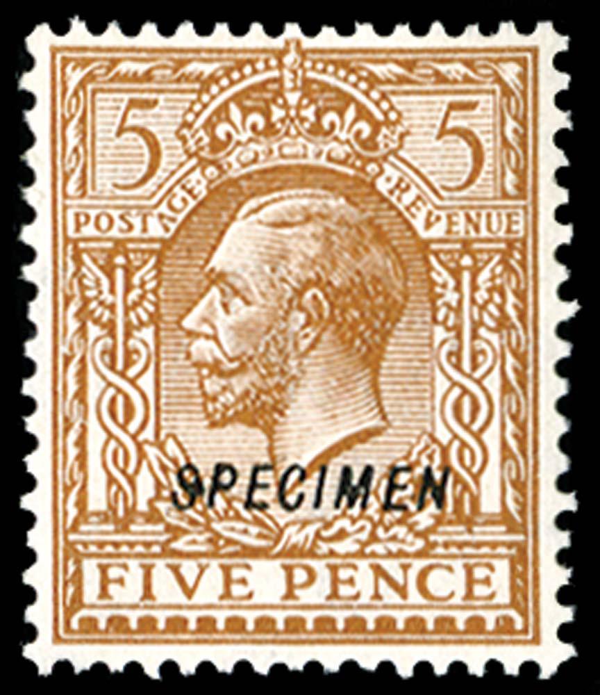 GB 1924  SG425var Specimen
