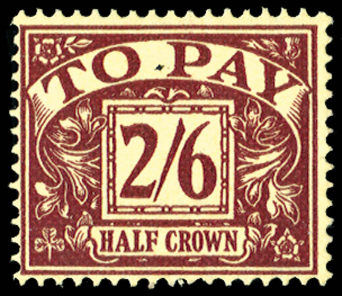 GB 1954  SGD45 Postage Due