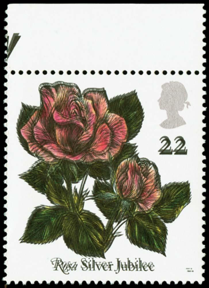 GB 1991  SG1568Eb Mint Black printed double