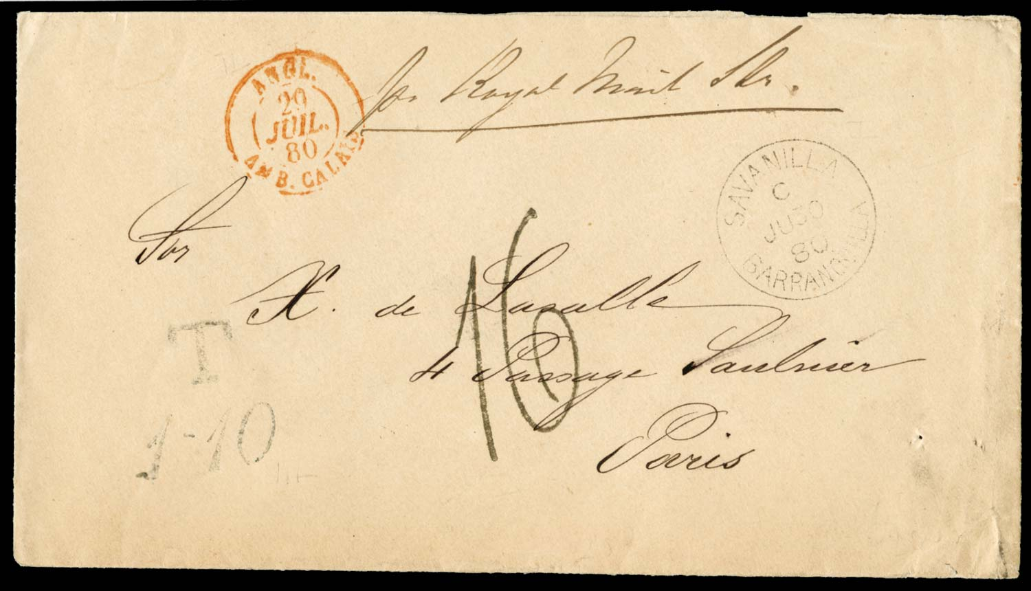 GB 1880  SG. Cover
