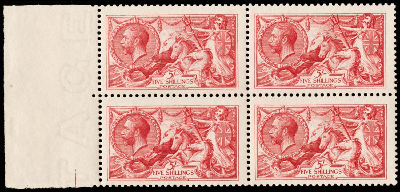GB 1913  SG401 Mint